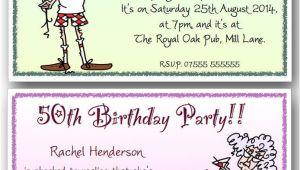 Humorous 70th Birthday Invitation Wording 40th 50th 60th 70th 80th 90th Personalised Funny Birthday