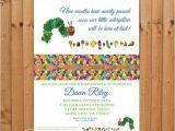 Hungry Caterpillar Baby Shower Invitations Items Similar to Digital 5×7 Very Hungry Caterpillar Baby