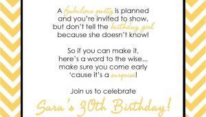Husband Birthday Invitation Wording Wording for Surprise Birthday Party Invitations Drevio