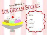 Ice Cream Party Invitation Template Free Free Printable Ice Cream social Invite Ice Cream Ice