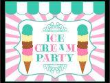 Ice Cream Party Invitations Printable Free Free Ice Cream Party Printables From Printabelle