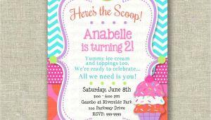Ice Cream theme Party Invitations Ice Cream Party Invitations Party Invitations Templates