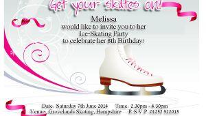 Ice Skating Party Invitations Free Printable Best Photos Of Ice Skating Party Invitation Templates