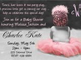 Ideas for Baby Shower Invitations for A Girl Baby Shower Invitation Wording for A Girl Cimvitation