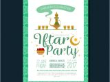 Iftar Party Invitation Template iftar Party Invitation Vector Free Download