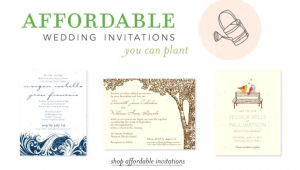 Inexpensive Plantable Wedding Invitations Inexpensive Seeded Wedding Invitations Good Plantable