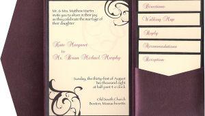 Inserts for Wedding Invites 9 Best Images Of Pocketfold Wedding Invitations Inserts