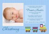 Invitation Card Baptism Baby Boy Baptism Invitation for Baby Boy