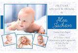 Invitation Card Baptism Baby Boy Baptism Invitations for Boys Blank Baptismal Invitation