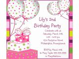 Invitation Card for Birthday Party Online Invitation for Birthday