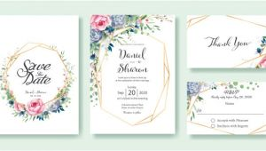 Invitation Card format for Wedding Wedding Invitation Card Template Vector Premium Download
