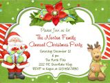 Invitation for A Christmas Party Christmas Party Invitation Christmas Holiday Party