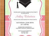 Invitation for A Graduation Party Paisley Graduation Party Invitation Cards Printable Diy