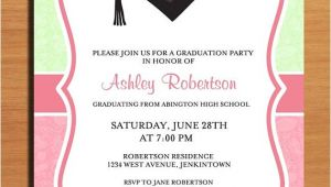 Invitation for A Graduation Party Paisley Graduation Party Invitation Cards Printable Diy