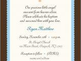 Invitation for Baptism Words Baby Boy Baptism Invitation Boy or Girl Baby Boy