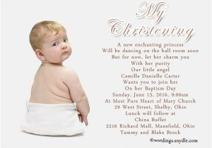 Invitation for Baptism Words Baptism Invitation Wording Samples Wordings and Messages