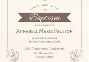 Invitation for Baptism Words Catholic Baptism Invitation Wording Twins formal Lds
