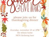 Invitation for Thanksgiving Party 20 Best Ideas About Thanksgiving Invitation On Pinterest