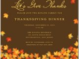 Invitation for Thanksgiving Party Thanksgiving Invitations 365greetings Com