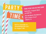 Invitation Language Party Summer Party Invitations Summer Party Invitations