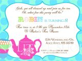 Invitation Language Party Tea Party Invitation Wording Tea Party Invitation Wording