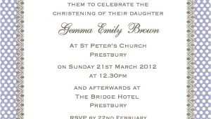 Invitation to Baptism Wording Cococards Christening Invitation Wording Just some Ideas
