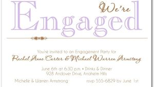 Invitation to Engagement Party Wording Engagement Invitation Wording 365greetings Com