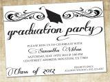 Invitation to Graduation Party Wording Graduation Party Invitations Graduation Party