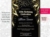 Invitation Wording for 60th Birthday Party 60th Birthday Invitation 60th Birthday Party Invitation 60th