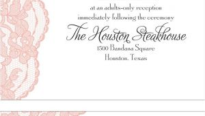 Invitation Wording for Adults Only Party Adults Ly Wedding Invitation Wording