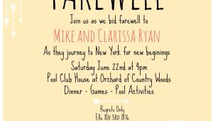 Invitation Wordings for Farewell Party Farewell Invite Picmonkey Creations