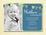 Invitations for 2 Year Old Party 2 Year Old Birthday Party Invitations