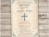 Invitations for Baptism In Spanish Spanish Printable Baptism Invitations Espanol Catholic Church
