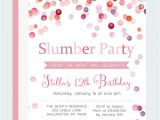 Invitations for Sleepover Party Templates 19 Party Invitation Templates Free Sample Example