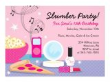 Invitations for Sleepover Party Templates Slumber Party Invitations Templates Free Cimvitation