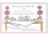 Invitations to Tea Party Samples High Tea Invitations Paperstyle