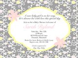 Invite to Baby Shower Wording Wording for Baby Shower Invitations asking for Gift Cards