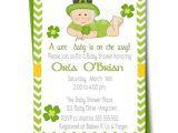 Irish Baby Shower Invitations Irish Baby Shower Invitation St Patricks Day Babyshower