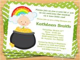 Irish Baby Shower Invitations St Patricks Day Irish Baby Shower Invitation by eventfulcards