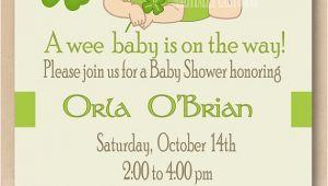 Irish Baby Shower Invitations Unavailable Listing On Etsy