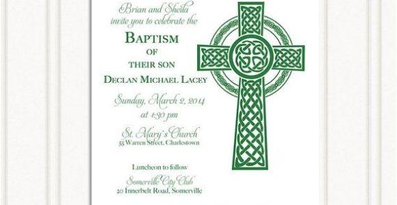 Irish Baptism Invitations 15 Best Images About Irish Christening On Pinterest