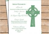Irish Baptism Invitations Items Similar to Celtic Baptism Invitation Christening