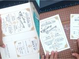 It Works Wrap Party Invitation Template Free Template Vintage Wedding Invitation with Art Deco Band