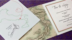 Italian themed Wedding Invitations Italian themed Wedding Stationery and Favours