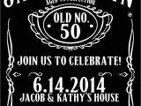 Jack Daniels Party Invitation Template Free Items Similar to Jack Daniels Style Birthday Invitation