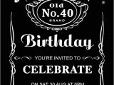 Jack Daniels Party Invitation Template Free Jack Daniels In 2019 21st Birthday Invitations Jack