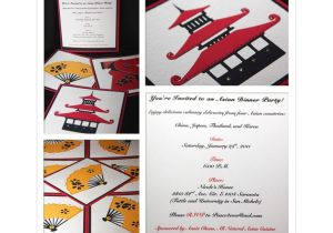 Japanese Dinner Party Invitations the Crafty soprano Invitations for An asian Dinner Party