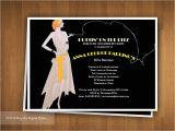 Jazz Party Invitations Items Similar to Puttin 39 On the Ritz Roaring 20 39 S Jazz