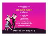 Jazz Party Invitations Roaring 20 39 S Jazz Party theme Invitation Zazzle