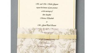Joann Fabrics Wedding Invitation Kits Wilton 25 Ct Gold Wedding toile Invitation Kit at Joann Com
